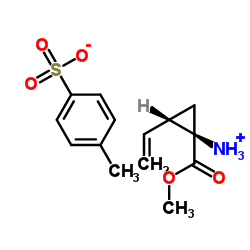 (1R,2S)-Methyl 1-amino-2-vinylcyclopropanecarboxylate 4-methylbenzenesulfonate