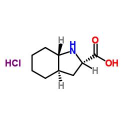 (2S、3aR、7aS)-2,3,3a、4,5,6,7,7a-オクタヒドロ-1H-インドール-2-カルボン酸、塩酸塩