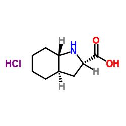 (2S,3aR,7aS)-2,3,3a,4,5,6,7,7a-octahydro-1H-indole-2-carboxylic acid,hydrochloride