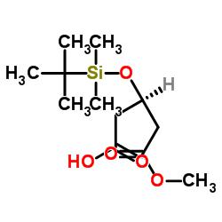 (R)-3-((tert-ブチルジメチルシリル)オキシ)-5-メトキシ-5-オキソペンタン酸