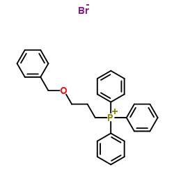 triphenyl(3-phenylmethoxypropyl)phosphanium,bromide