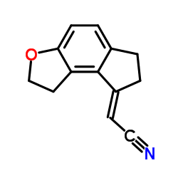 (2E)-2-(1,2,6,7-テトラヒドロシクロペンタ[e] [1]ベンゾフラン-8-イリデン)アセトニトリル