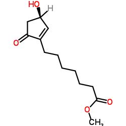 METHYL (R)-(+)-3-HYDROXY-5-OXO-1-CYCLOPENTENE-1-HEPTANOATE