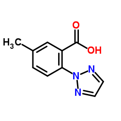 5-Methyl-2-(2H-1,2,3-triazol-2-yl)benzoic acid