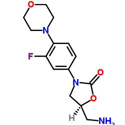 (5S)-5-(aminomethyl)-3-(3-fluoro-4-morpholin-4-ylphenyl)-1,3-oxazolidin-2-one