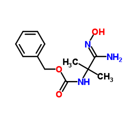 benzyl N-[(1Z)-1-amino-1-hydroxyimino-2-methylpropan-2-yl]carbamate