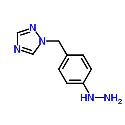1-(4-Hydrazinophenyl)methyl-1,2,4-triazole
