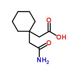 1,1-Cyclohexanediacetic acid mono amide