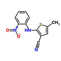 5-Methyl-2-[(2-nitrophenyl)amino]-3-thiophenecarbonitrile