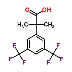 2-[3,5-bis(trifluoromethyl)phenyl]-2-methylpropanoic acid
