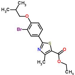 Ethyl 2-(3-bromo-4-isobutoxyphenyl)- 4-methyl-5-thiazolecarboxylate