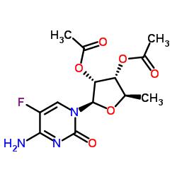 2 '、3'-ジ-O-アセチル-5'-デオキシ-5-フルオロシチジン