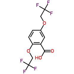 2,5-Bis(2,2,2-trifluoroethoxy)benzoic acid