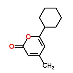 6-Cyclohexyl-4-methyl-2H-pyran-2-one