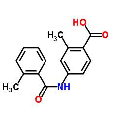2-メチル-4-[(2-メチルベンゾイル)アミノ]安息香酸