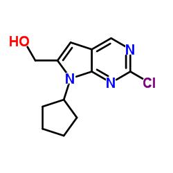 (2-chloro-7-cyclopentyl-7H-pyrrolo[2,3-d]pyrimidin-6-yl)methanol