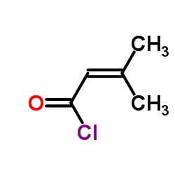 3-Methylbut-2-enoyl chloride