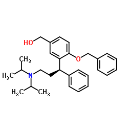 {4-(benzyloxy)-3-[(1R)-3-(dipropan-2-ylamino)-1-phenylpropyl]phenyl}methanol