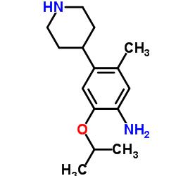 2-isopropoxy-5-methyl-4-(piperidin-4-yl)aniline