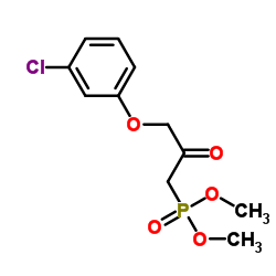 Dimethyl (3-(3-chlorophenoxy)-2-oxopropyl)phosphonate