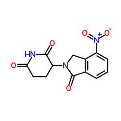 (3S)-3-(4-Nitro-1-oxo-1,3-dihydro-2H-isoindol-2-yl)piperidine-2,6-dione