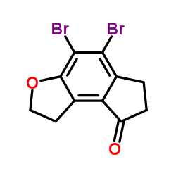 4,5-dibromo-1,2,6,7-tetrahydrocyclopenta[e][1]benzofuran-8-one