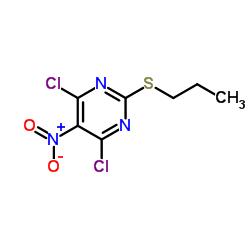4,6-Dichloro-5-nitro-2-(propylthio)pyrimidine