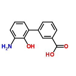 3-(3-amino-2-hydroxyphenyl)benzoic acid