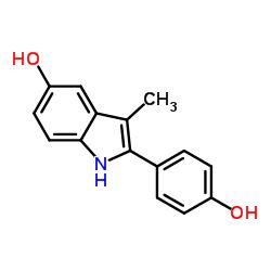 2-(4-hydroxyphenyl)-3-methyl-1H-indol-5-ol