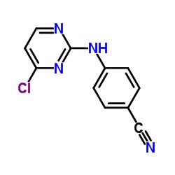 4-[(4-Chloro-2-pyrimidinyl)amino]-benzonitrile