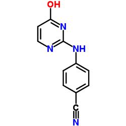 4-[(6-oxo-1H-pyrimidin-2-yl)amino]benzonitrile