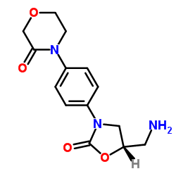 (S)-4-(4-(5-(Aminomethyl)-2-oxooxazolidin-3-yl)phenyl)morpholin-3-one