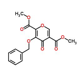 4-オキソ-3-(フェニルメトキシ)-4H-ピラン-2,5-ジカルボン酸2,5-ジメチルエステル