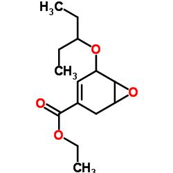 Ethyl (1S,5R,6S)-5-(pentan-3-yl-oxy)-7-oxa-bicyclo[4.1.0]hept-3-ene-3-carboxylate