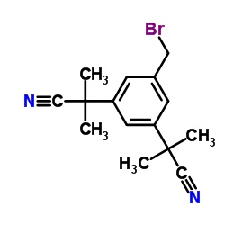 2,2'-(5-(Bromomethyl)-1,3-phenylene)bis(2-methylpropanenitrile)