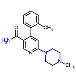 4-(2-methylphenyl)-6-(4-methylpiperazin-1-yl)pyridine-3-carboxamide