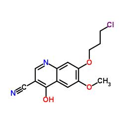 7-(3-クロロプロポキシ)-6-メトキシ-4-オキソ-1,4-ジヒドロ-3-キノリンカーボン