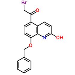 8-Benzyloxy-5-(2-bromoacetyl)-2-hydroxyquinoline