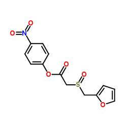 p-Nitrophenyl 2-(Furfurylsulfinyl)acetate