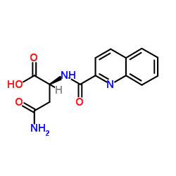 (2S)-2-[(quinoline-2-carbonyl)-amino]-succinamic acid