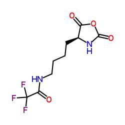 (S)-N-(4-(2,5-Dioxooxazolidin-4-yl)butyl)-2,2,2-trifluoroacetamide