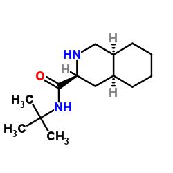 (S)-N-t-butyl decahydro-3-iso-quinolinecarboxamide