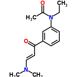 N-Ethyl-N-3-((3-Dimethylamino-1-Oxo-2-Propenyl)Phenyl)Acetamide