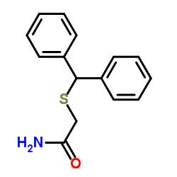 2-[(Diphenylmethyl)Thio]Acetamide
