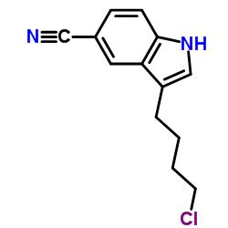 3-(4-Chlorobutyl)-1H-indole-5-carbonitrile