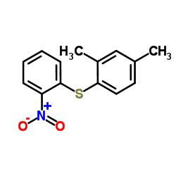 2,4-Dimethyl-1-[(2-nitrophenyl)thio]benzene