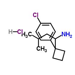 1-[1-(4-chlorophenyl)cyclobutyl]-3-methylbutan-1-amine,hydrochloride