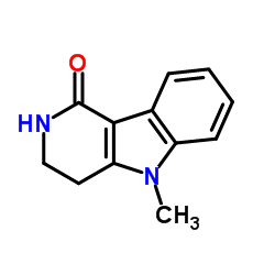 2,3,4,5-Tetrahydro-5-methyl-1H-pyrido[4,3-b]indol-1-one