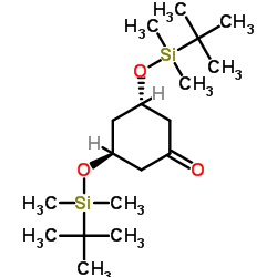 3,5-di-(tert-butyl-dimethylsilyloxy)-(3S,5S)-cyclohexan-1-one