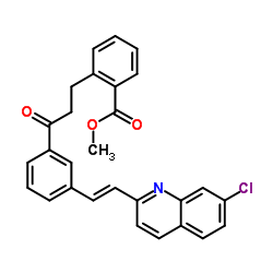 Methyl 2-(3-(3-((7-chloroquinolin-2-yl)(thiophen-2-yl)methyl)phenyl)-3-oxopropyl)benzoate